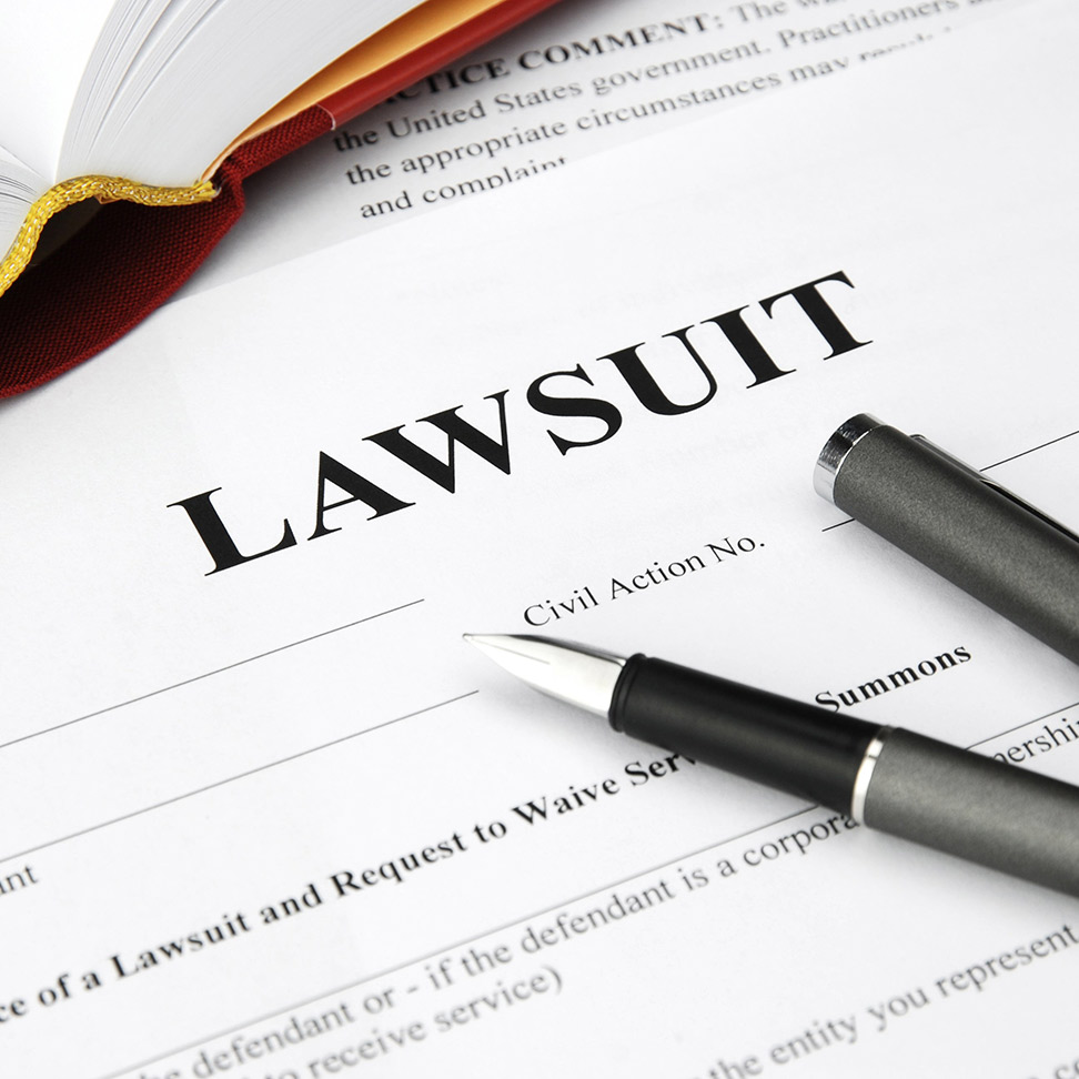 Lawsuit Document and Pen - Commercial Litigation
