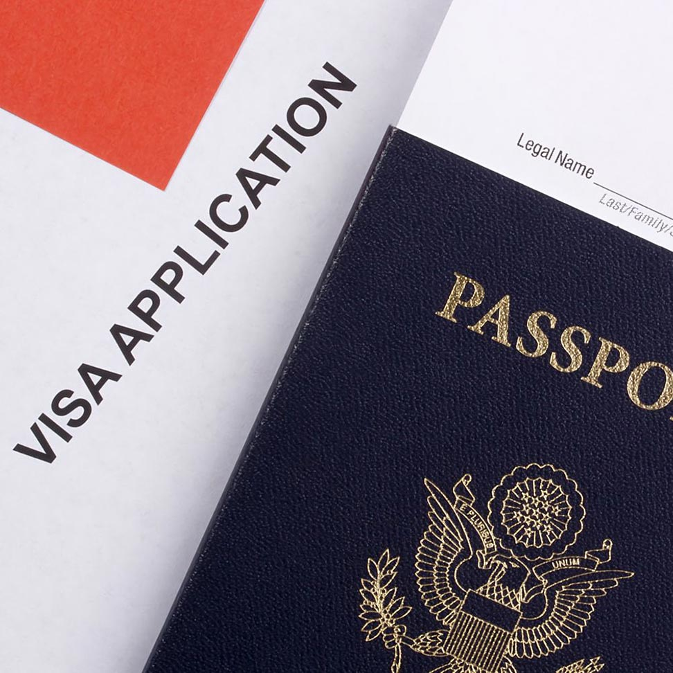 Visa Application and Passport - Business Immigration